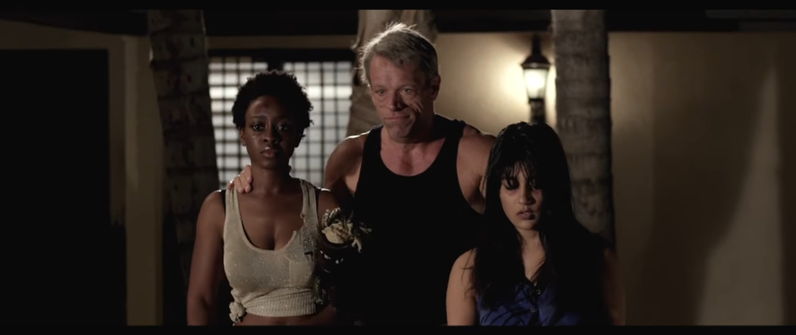 "Jessica Obilom, Brian Thompson, & Alpa Banker in ""Trafficked"""
