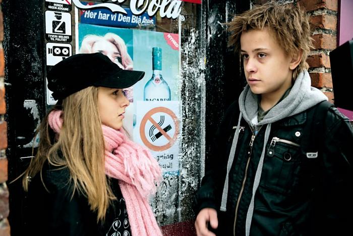 Samuel Heller-Seiffert and Anna Agafia Svideniouk Egholm in Max Pinlig (2008)