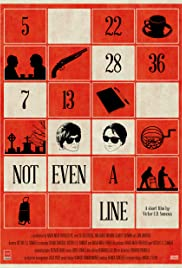 Not Even a Line Poster