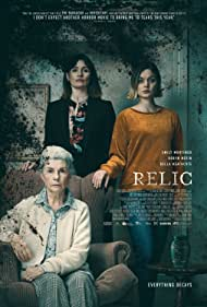 Emily Mortimer, Robyn Nevin, and Bella Heathcote in Relic (2020)