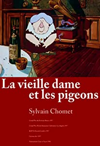 Sites for watching movie La vieille dame et les pigeons by Sylvain Chomet [640x320]