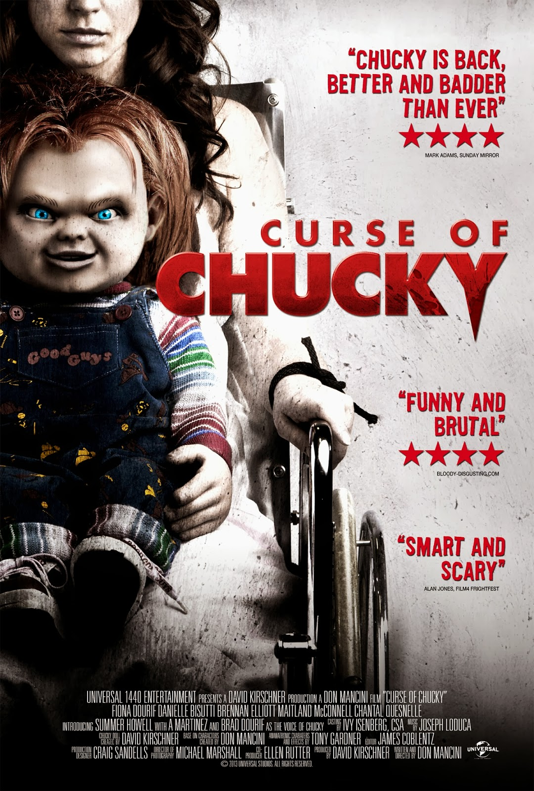 Image result for curse of chucky poster