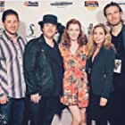 Robyn Cohen, Jilon VanOver, Dax Shelby, Evan O'Brien, and Kincaid Walker at an event for Not Our Aiden (2017)
