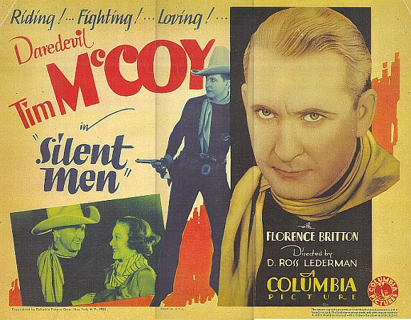 Tim McCoy and Florence Britton in Silent Men (1933)