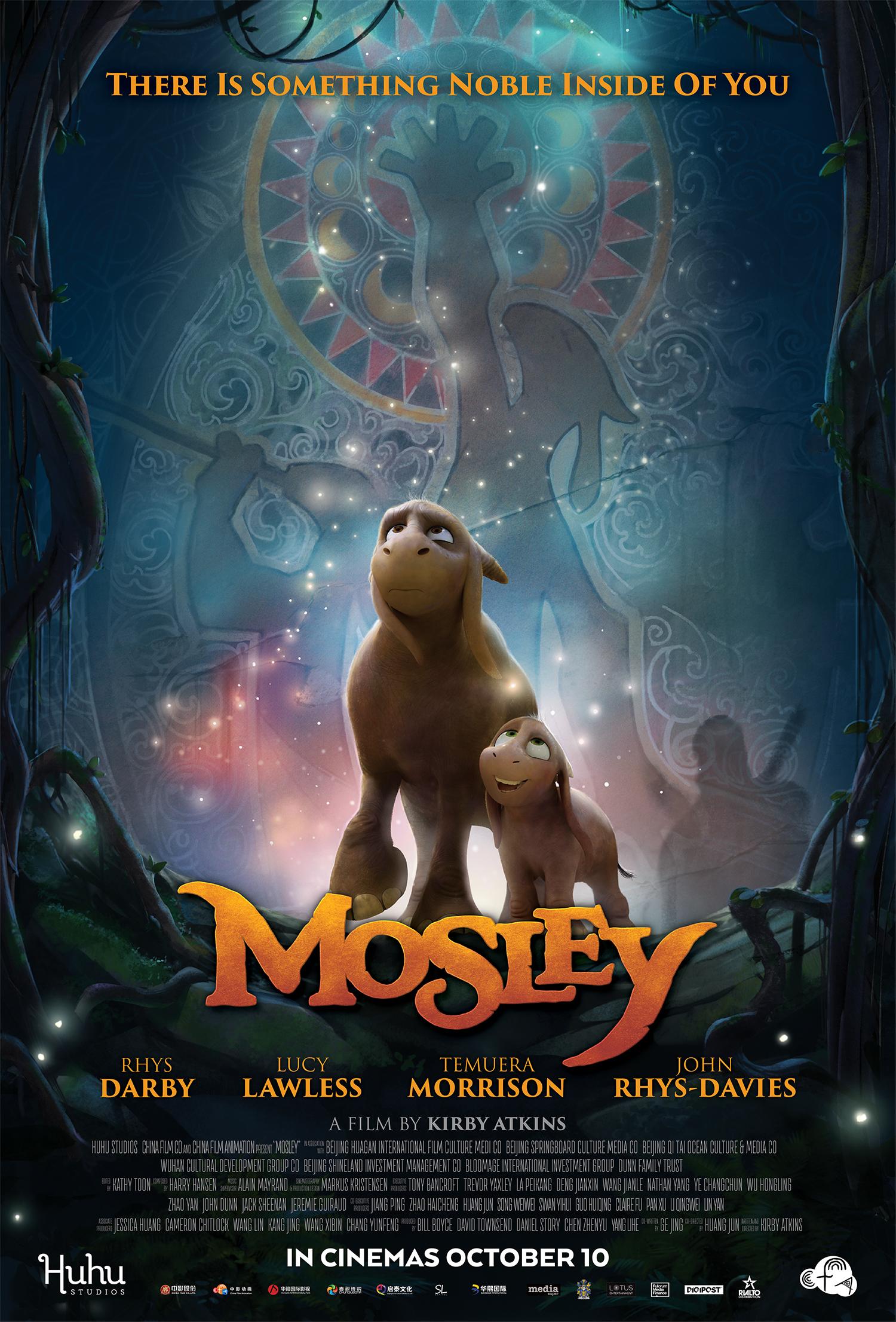 DRĄSUSIS MOZLIS (2019) / Mosley
