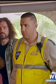 Casey Donovan, Rob Shehadie, and Bernard Woodcock in Street Smart (2018)