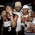 50 Cent, Michael Rainey Jr., and Mekai Curtis at an event for Power Book III: Raising Kanan (2021)