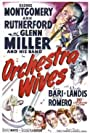 Glenn Miller, Cesar Romero, Lynn Bari, Carole Landis, George Montgomery, Ann Rutherford, and Glenn Miller and His Orchestra in Orchestra Wives (1942)