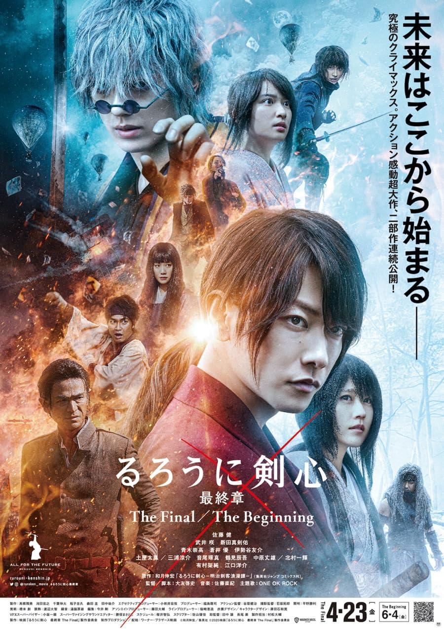 Rurouni Kenshin The Beginning (2021) Hindi Dubbed 720p HDRip 1GB
