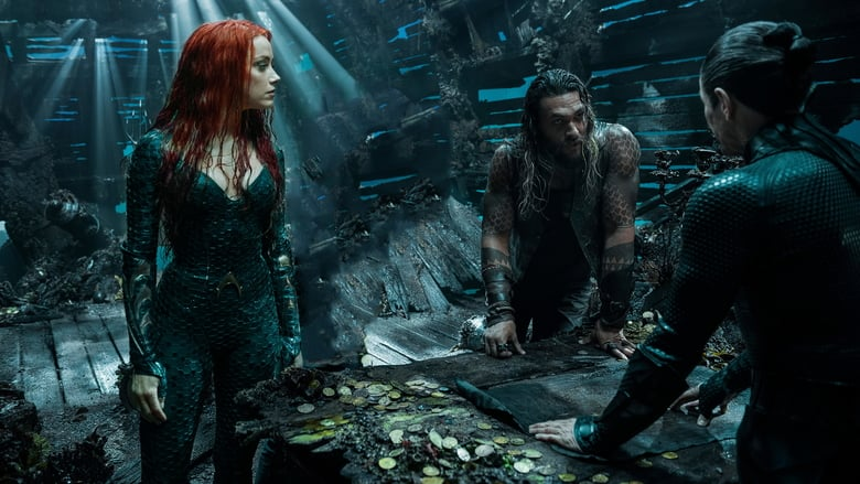 Willem Dafoe, Jason Momoa, and Amber Heard in Aquaman (2018)