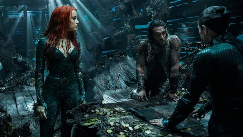 Willem Dafoe, Jason Momoa, and Amber Heard in Aquaman (2018)