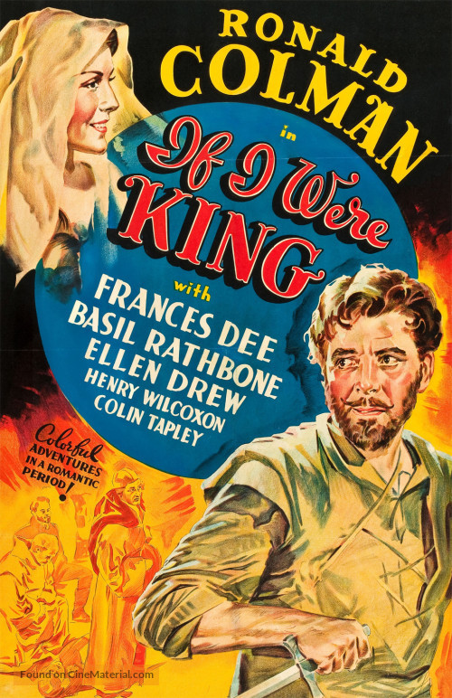 Ronald Colman and Frances Dee in If I Were King (1938)