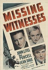 Missing Witnesses Poster