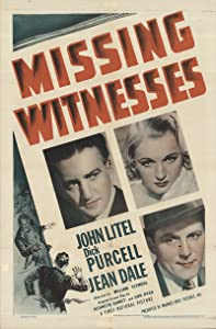 itunes top 10 movie downloads Missing Witnesses by Frank McDonald [Bluray]