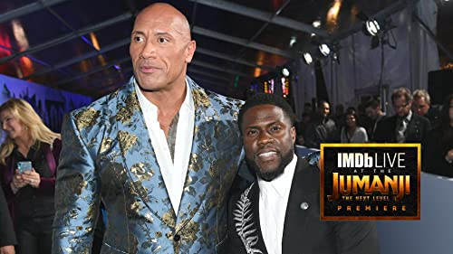 BFFs Dwayne Johnson and Kevin Hart Own the 'Jumanji: The Next Level' Premiere