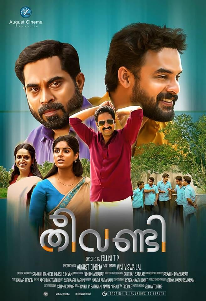 Theevandi (2018) Malayalam HQ Real 720p DVDScr x264 1.4GB