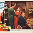 Fred MacMurray, Mary Martin, and Akim Tamiroff in New York Town (1941)