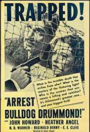 Arrest Bulldog Drummond Poster