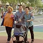 Barney Cheng, Yvette Mercedes, and Michael Adam Hamilton in Baby Steps (2015)