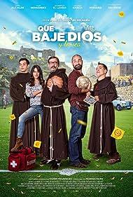 Karra Elejalde, Joel Bosqued, El Langui, Alain Hernández, and Macarena García in Que baje Dios y lo vea (2017)