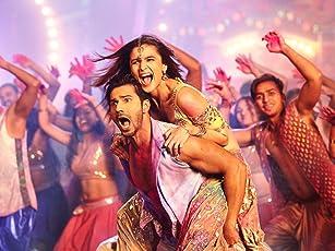 Alia Bhatt and Varun Dhawan in The Bride of Badrinath (2017)