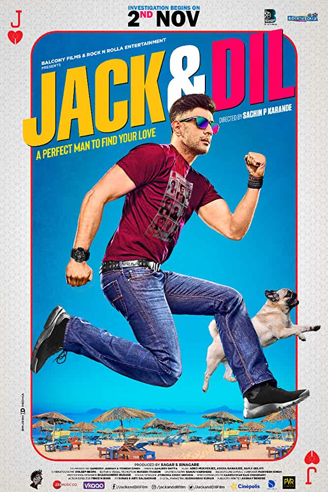 Free Download Jack And Dil (2018) Bollywood Hindi Movie 480p HDRip 300MB Download On Mp4moviez Fliz Movies