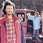 Diego Abatantuono, Gigio Alberti, Fabrizio Bentivoglio, Giuseppe Cederna, and Cristina Marsillach in Marrakech Express (1989)