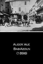 Alger: rue Bab-Azoun Poster