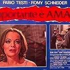 Romy Schneider and Fabio Testi in L'important c'est d'aimer (1975)