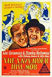 The Lavender Hill Mob (1951) Poster - Movie Forum, Cast, Reviews