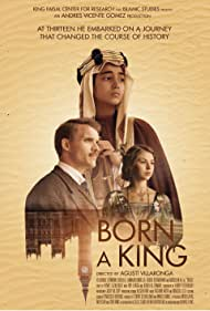 Ed Skrein, Hermione Corfield, and Abdullah Ali in Born a King (2019)