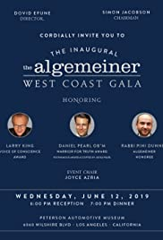 The Inaugural the Algemeiner West Coast Gala Poster
