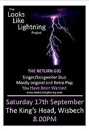 Looks like Lightning, Live! Poster