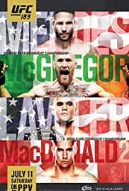 UFC 189: Mendes vs. McGregor