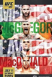 Primary photo for UFC 189: Mendes vs. McGregor