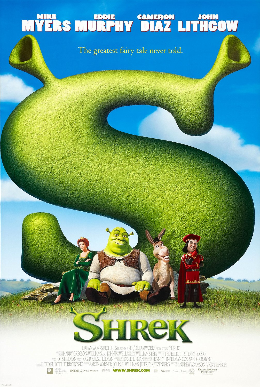 Bilderesultat for shrek 1