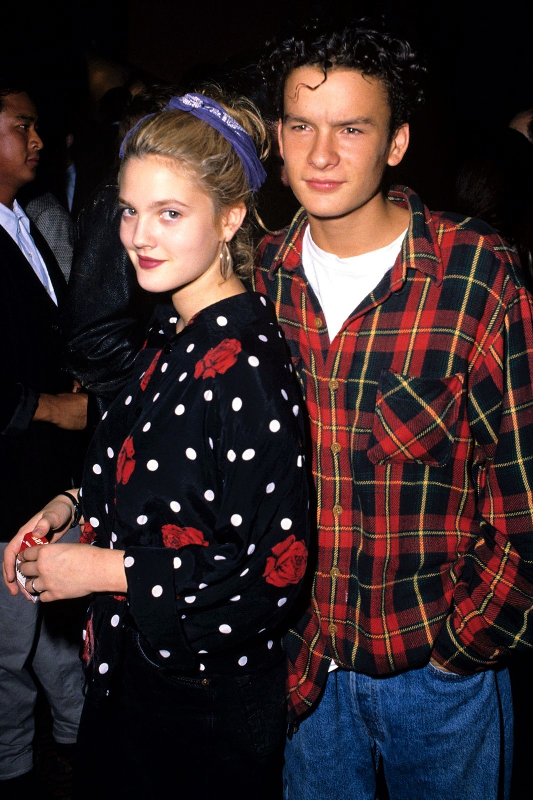 Drew Barrymore and Balthazar Getty at an event for Pacific Heights (1990)