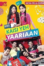 Vibha Anand, Niti Taylor, Charlie Chauhan, Ayaz Ahmed, Utkarsh Gupta, Parth Samthaan, and Krissann Barretto in Kaisi Yeh Yaariyan (2014)