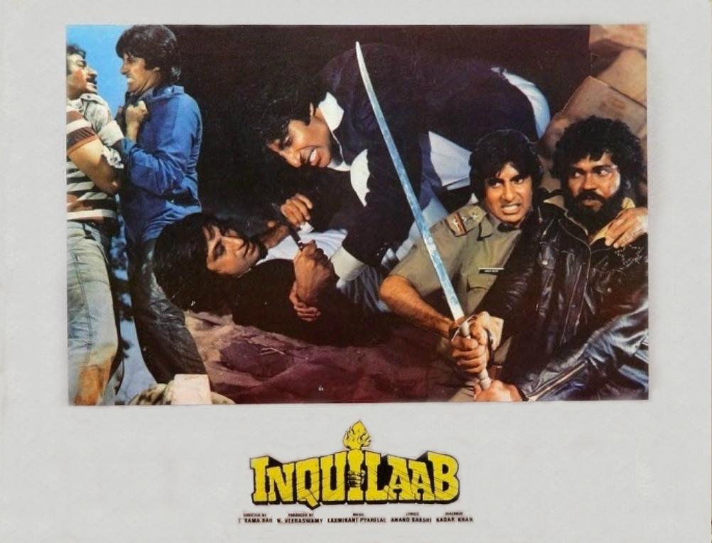 Amitabh Bachchan in Inquilaab (1984)