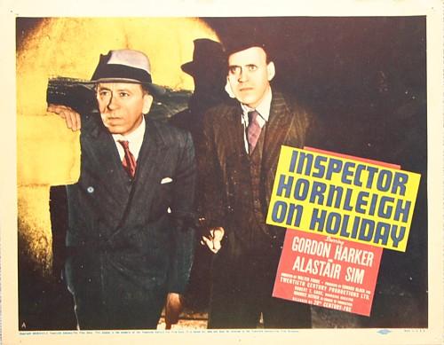 Gordon Harker and Alastair Sim in Inspector Hornleigh on Holiday (1939)