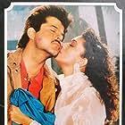 Madhuri Dixit and Anil Kapoor in Zindagi Ek Juaa (1992)