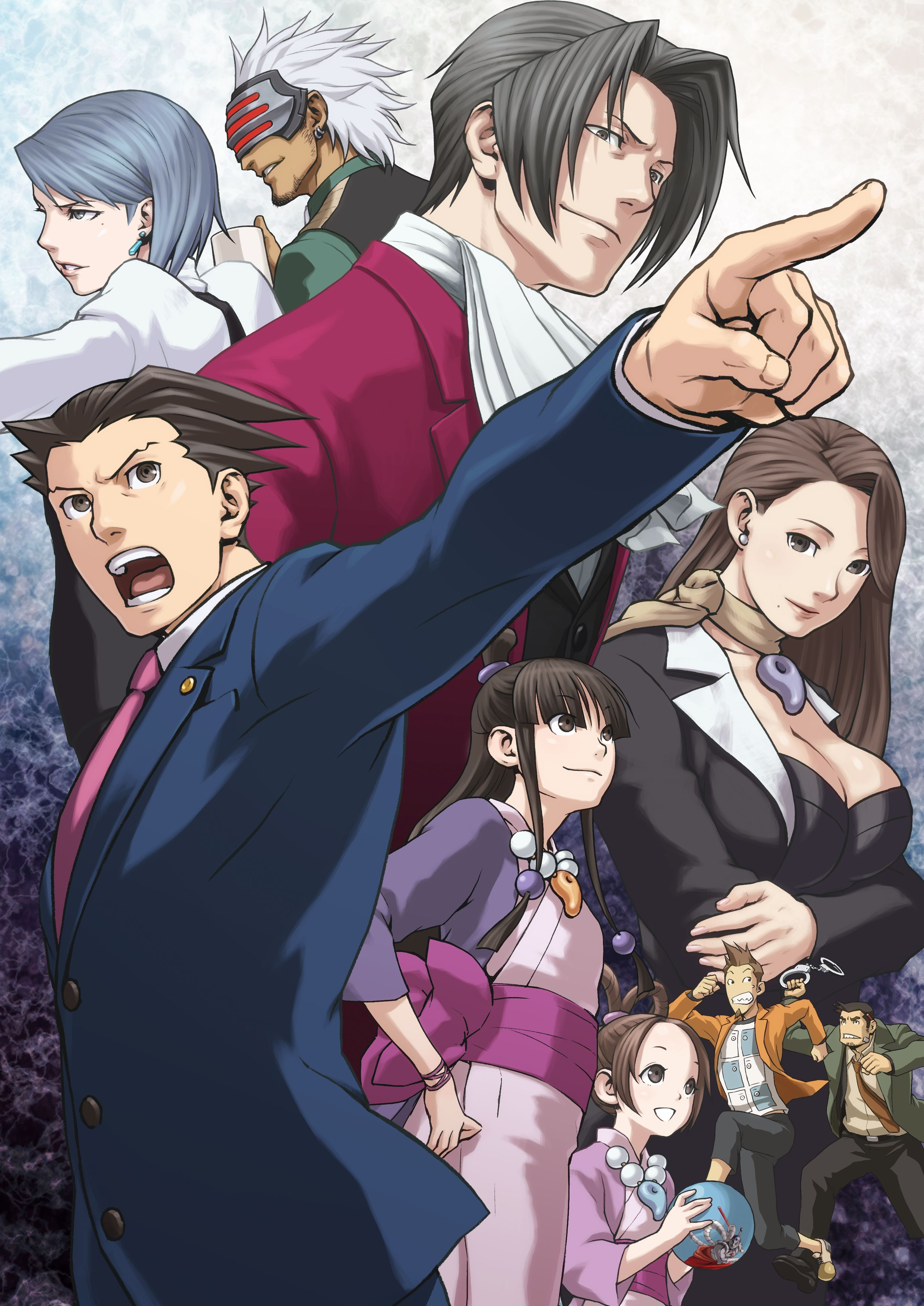 Phoenix Wright Ace Attorney Trials And Tribulations Video Game