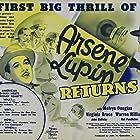 Melvyn Douglas, Virginia Bruce, John Halliday, and Warren William in Arsène Lupin Returns (1938)