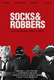 Pete Bennett, David Chabeaux, Aj Stevenson, and Andy Batson in Socks and Robbers
