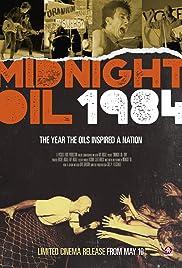 Midnight Oil: 1984 Poster
