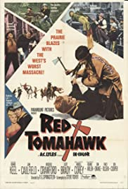 Red Tomahawk Poster