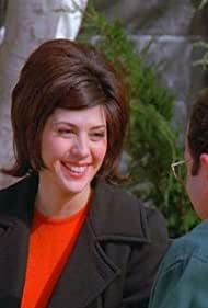 Marisa Tomei and Jason Alexander in Seinfeld (1989)