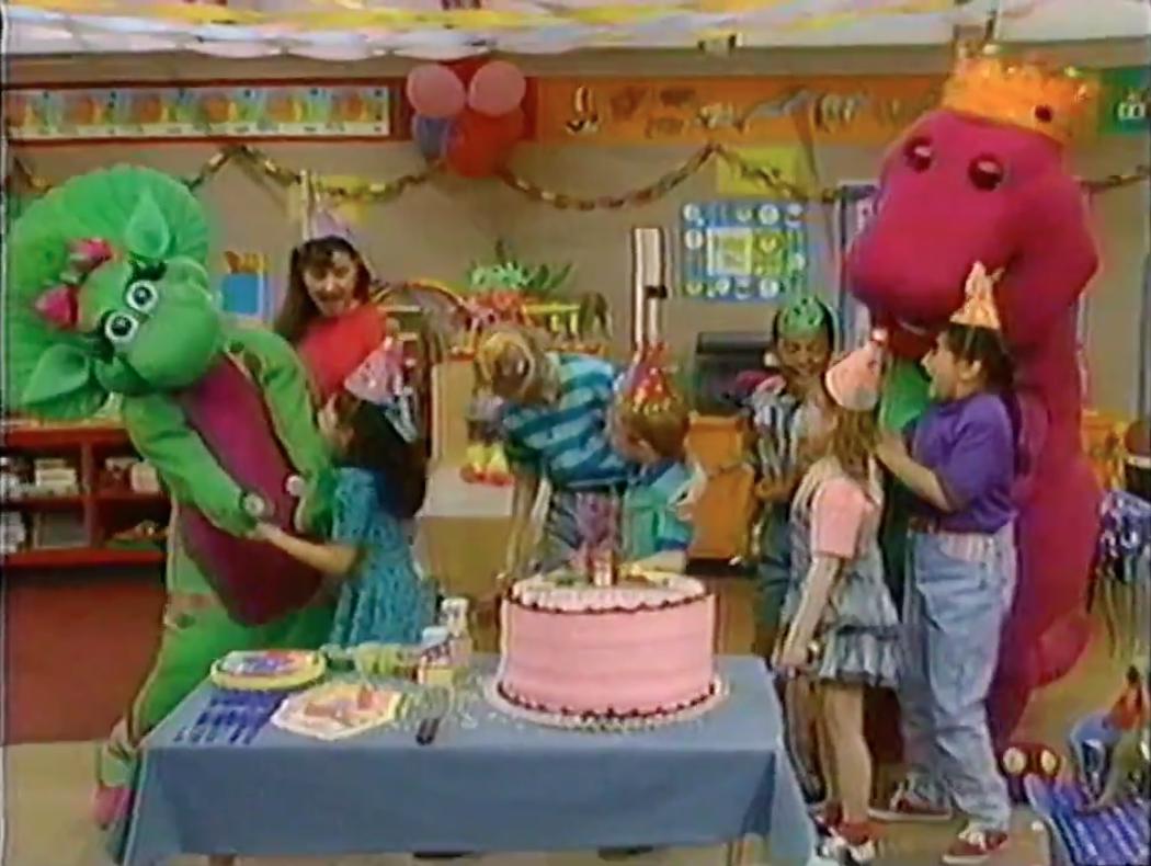barney birthday Happy Birthday, Barney! (1992) barney birthday