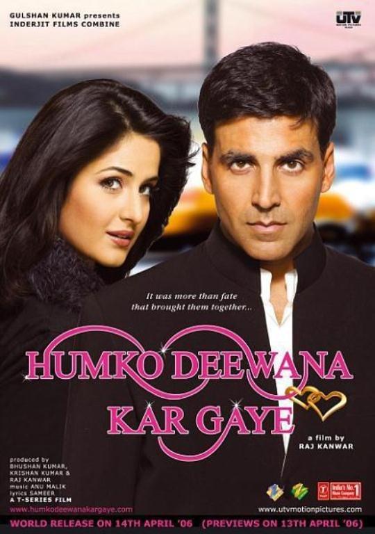 Humko Deewana Kar Gaye 2006 Hindi Movie 505MB BluRay ESub Download