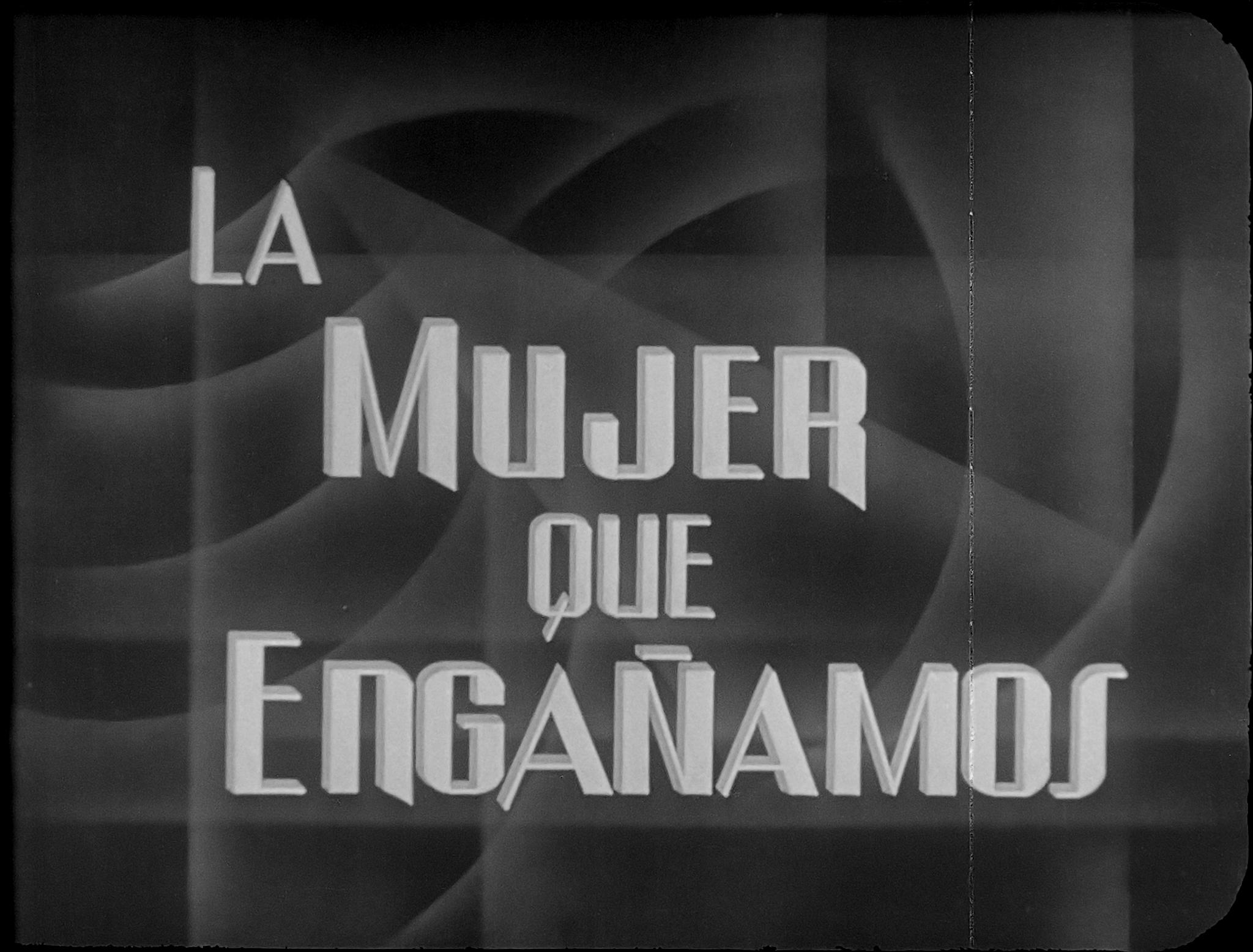 La mujer que engañamos (1945)